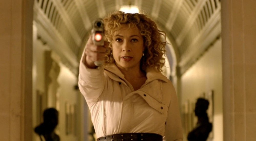 River Song kills a Dalek